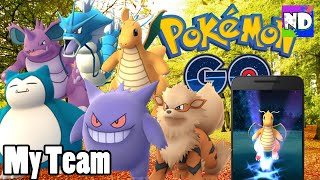 Video MY POKEMON GO TEAM - DRAGONITE, GYARADOS, ARCANINE, SNORLAX & MORE! w/ Nintendome download MP3, 3GP, MP4, WEBM, AVI, FLV September 2018