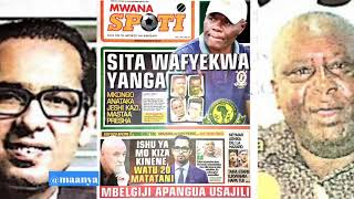 MAGAZETI ya leo Jumapili October 14/2018 HABARI kubwa bado ni kutekwa kwa Mo Dewji