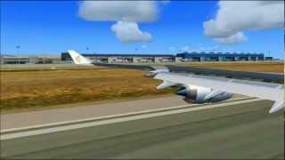 FSX: Landing in Spain HD