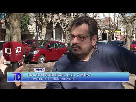 La accesibilidad en la mira: ¿cómo hizo Rodrigo para votar?