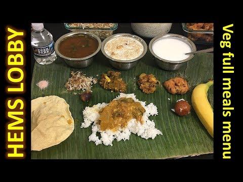 Special Vegetarian Lunch Menu in Tamil - South Indian Veg Full Meals Preparation - Vegetarian Thali