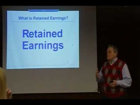 Chap 14 Lecture: Corporations -- Retained Earnings