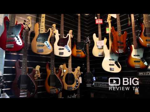 Sound Centre a Musical Instrument Store in Perth selling Bass, Guitar and Percussion