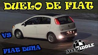 FIAT Punto vs FIAT DUNA - Duelo de Fiat !!