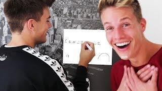 YouTuber STRICHMÄNNCHEN Teil 2 😂 (mit Luca)