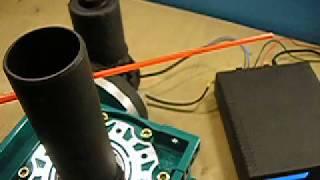 видео Антенна с поворотным механизмом