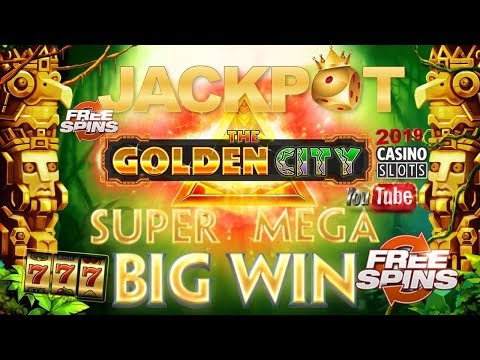 THE GOLDEN CITY CASINO SLOT GAME REVIEW | BIG WIN | FREESPINS | BONUS GAME | ISoftBet | 1080p60 FHD