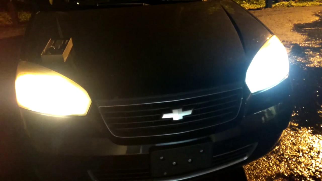 Led Headlight Upgrade 2006 Chevy Malibu