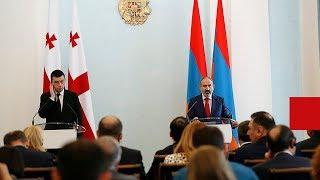 Հայաստանի և Վրաստանի վարչապետները հանդես են եկել ԶԼՄ ների համար հայտարարություններով