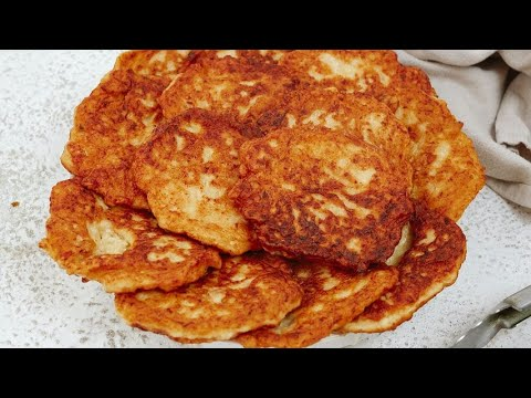 Chicken fritters crunchy and ready without yeast