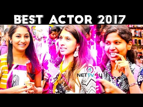 Best Actor Of 2017 : Chennai People Funny Reply | Public Opinion | Vijay | Ajith | Vijay Sethupathi