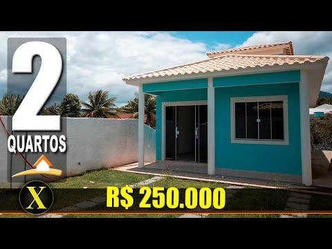 Casa em Maricá | projeto com 2 quartos | Vídeo #350