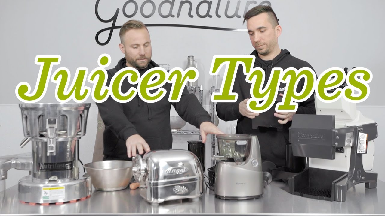 Centrifugal vs Masticating vs Cold Press Juicers | Goodnature
