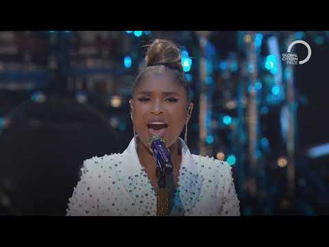 Jennifer Hudson performs Hallelujah | Global Citizen Prize 2019