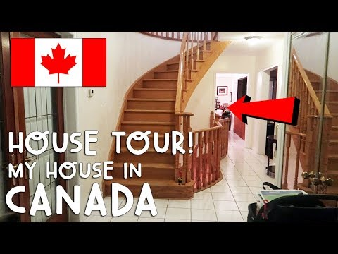 MY HOUSE IN CANADA (HOUSE TOUR!) | Vlog #184