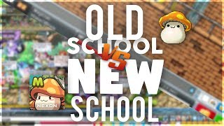 Old School VS New School MapleStory - Do You Want A Old School Server?
