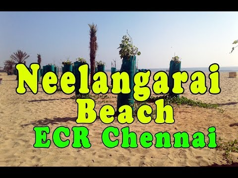 chennai Neelangarai beach ECR vlog