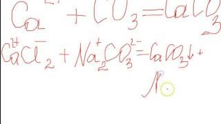 сокращённые ионные уравнения   8 класс