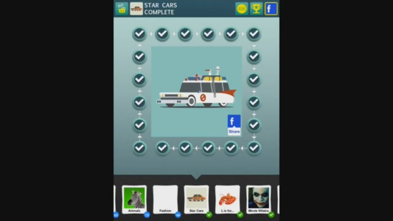 100 Pics Quiz Star Cars 1 100 Answers Youtube