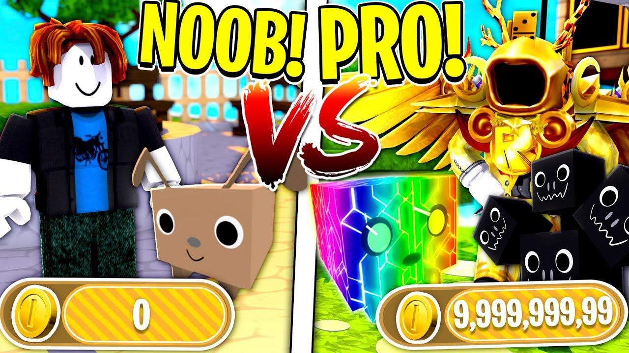 Roblox Noob Vs Pro Pet Simulator Minecraftvideostv - videos de roblox noob vs guest
