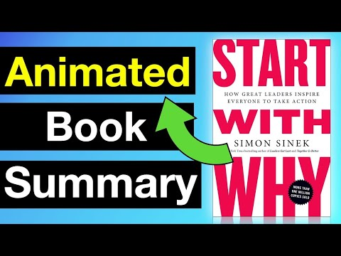 Start With Why by Simon Sinek | Animated Book Summary