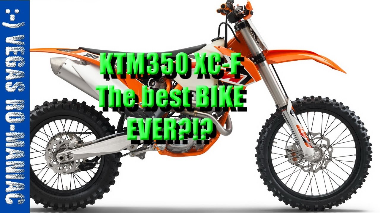 ktm 350 xc-f review first test ride - is it any good !?  or