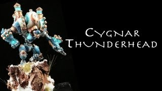 Painting Warmachine & Hordes: Cygnar Thunderhead
