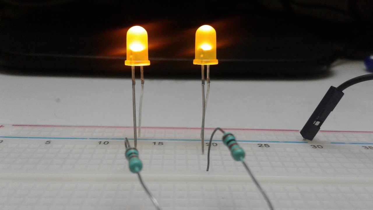 Making A Simplest Dual Led Flasher Using 2 Transistors Youtube Simpleonoffswitchcircuitusingtransistorjpg