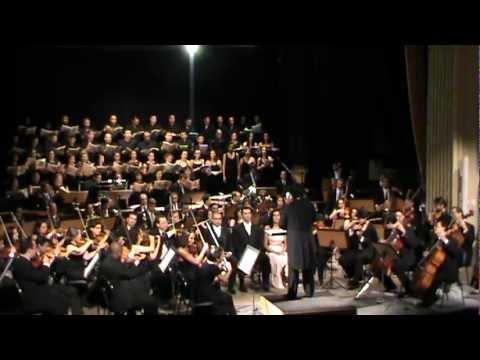 Carmina Burana, Orquestra Filarmônica do Espírito Santo, maestro adjunto: Leonardo David