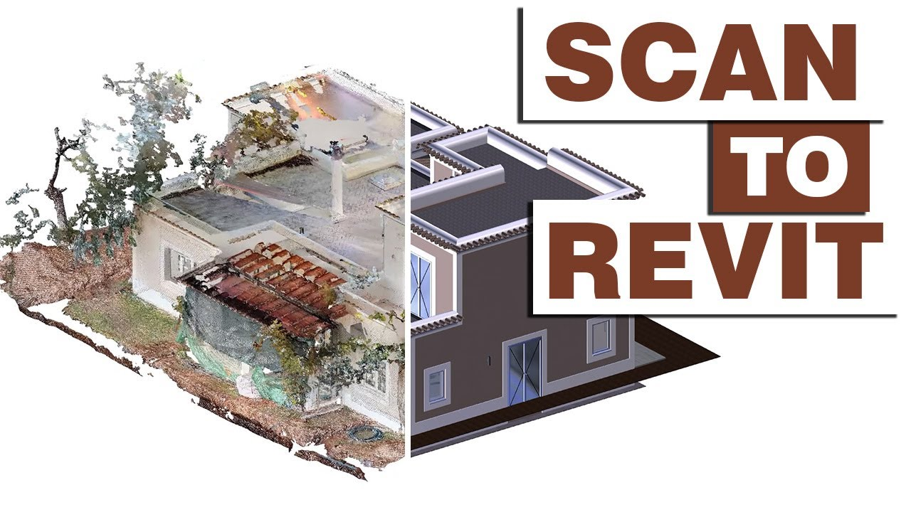 Scan to Revit | BIM Model for Renovation | Existing, Demo and New