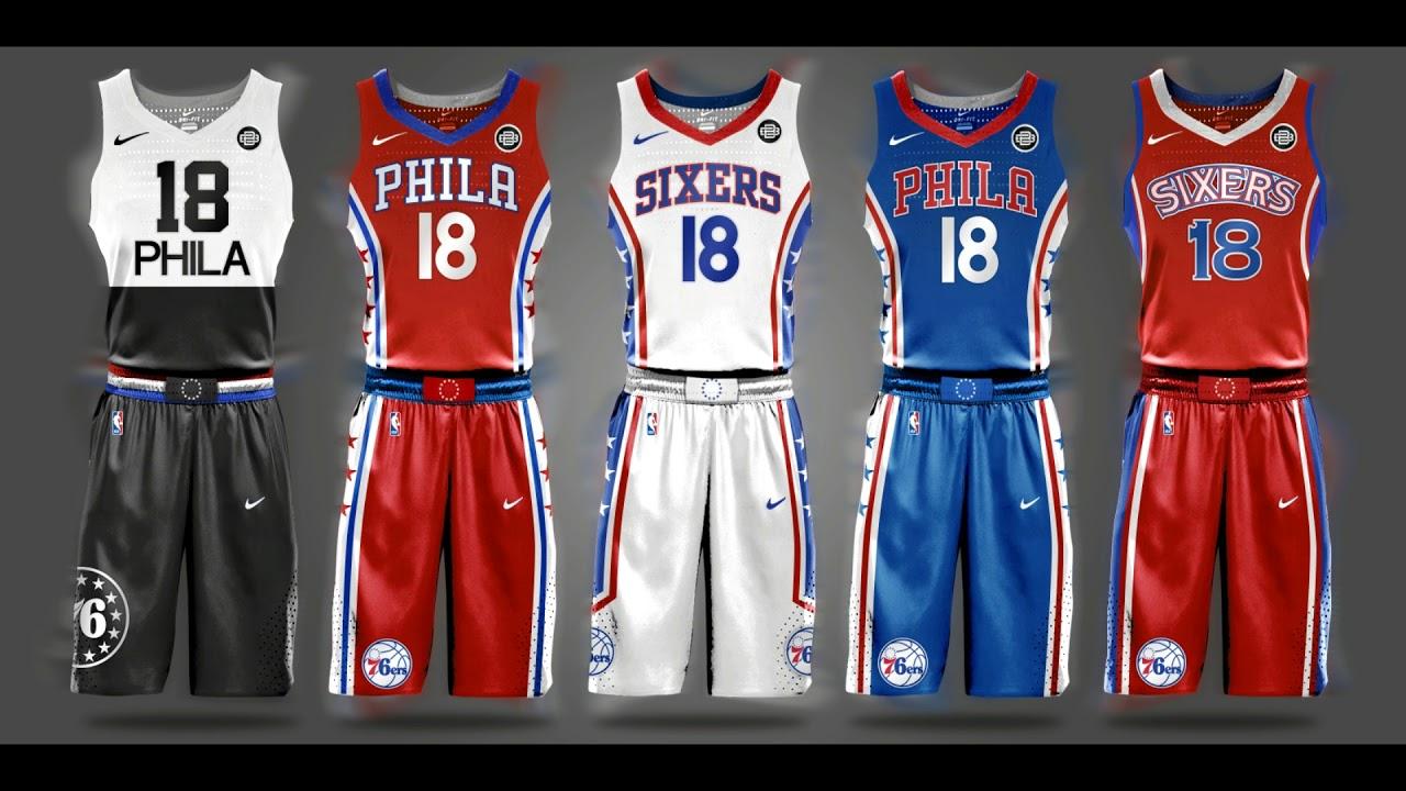 Nba Jersey Design  Nike