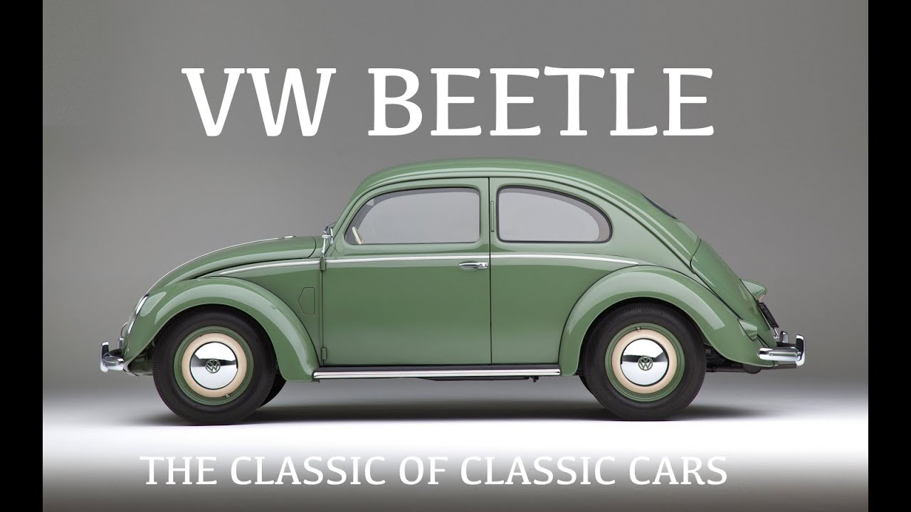 vw beetle the classic of all cars volkswagen bug herbie youtube. Black Bedroom Furniture Sets. Home Design Ideas