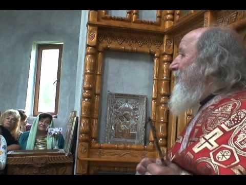 Predica parintelui Gheorghe Pandelica - Parohia Reviga, Jud.Ialomita, Biserica Mircea Cel Batran