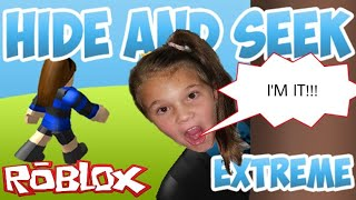 Roblox Extreme Hide and Seek! I'm IT!!