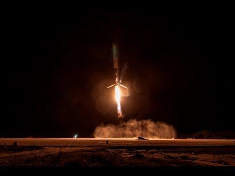 Postlanding Telecon With Elon Musk - Falcon 9 v1.1 RTF Orbcomm OG2 M2