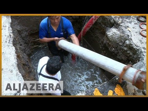 🚰 Mexico capital's water crisis over crumbling infrastructure | Al Jazeera English
