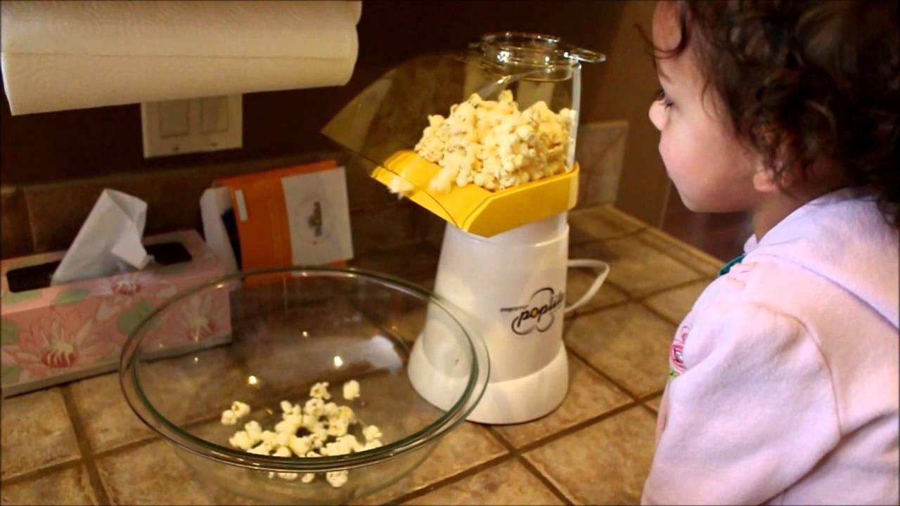 Presto Poplite Hot Air Popcorn Maker Youtube