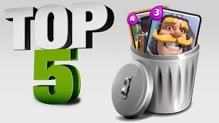 TOP 5 CARTE INUTILI su Clash Royale