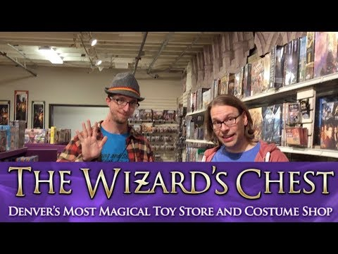 The Wizard's Chest - AWESOME game and toy store in Denver, Colorado