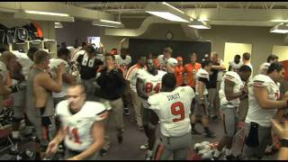 """Teach Me How to Gundy"" - #7 Oklahoma State at #8 Texas A&M Postgame Celebration"