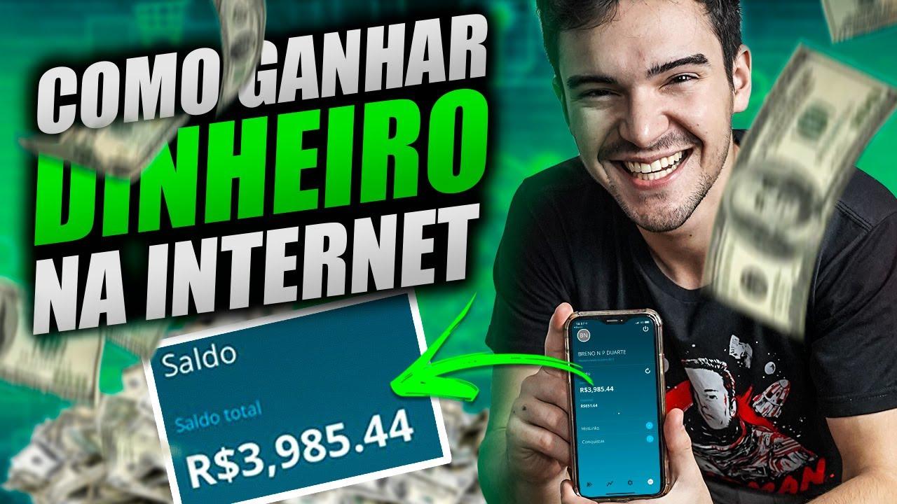 dinheiro na internet como ganhar real fazendo dinheiro online