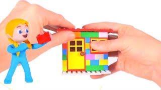 SUPERHERO BABIES BUILD WITH LEGO BLOCKS ❤ Superhero Babies Play Doh Cartoons For Kids