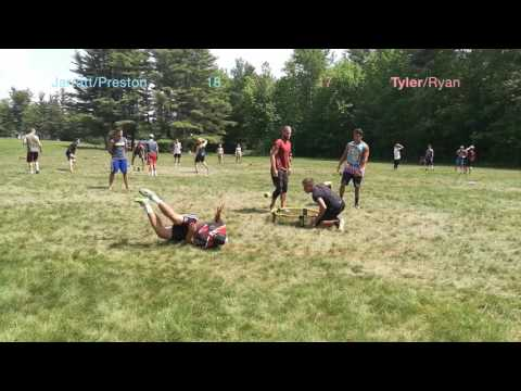 Birch Hill 2017 Men's Spikeball Semifinals (Jarratt/Preston vs. Tyler/Ryan)