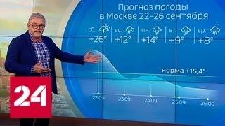 'Погода 24': итоги недели - Россия 24