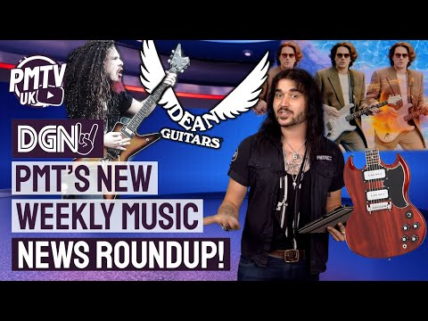DGN #1 - PMTs NEW Weekly Music News Roundup! NEW Gibson SG, John Mayer Chat & Get YOURSELF on PMTVUK