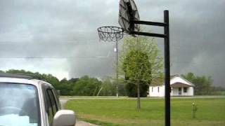 The Beginning Of The Tornado In Holly Springs, North Carolina (4/16/2011)