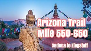 Arizona Trail Documentary Sedona Detour to Flagstaff. Got an Aura Reading, met Joseph Whitewolf