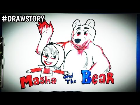 Gambar Masha And The Bear Kartun