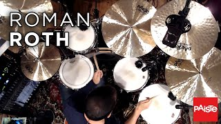 PAISTE CYMBALS - Roman Roth (Masters Cymbals)