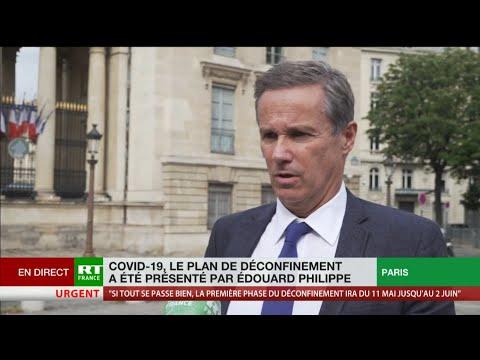 Nicolas Dupont-Aignan: le plan de déconfinement, «une usine à gaz bureaucratique inapplicable»